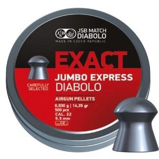 JSB Match Diabolo Exact Jumbo Express .22 Cal, 14.35gr