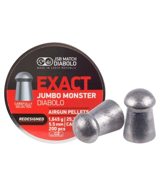JSB Match Diabolo Redesigned JSB Monster .22 cal, 25.39gr