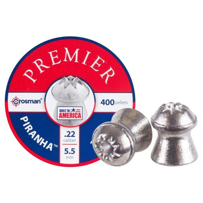 Crosman Premier Piranha Hollowpoint .22 Cal, 14.3gr