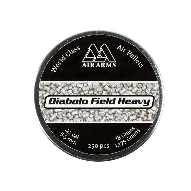 Air Arms Diabolo Field Heavy .22 Cal, 18gr