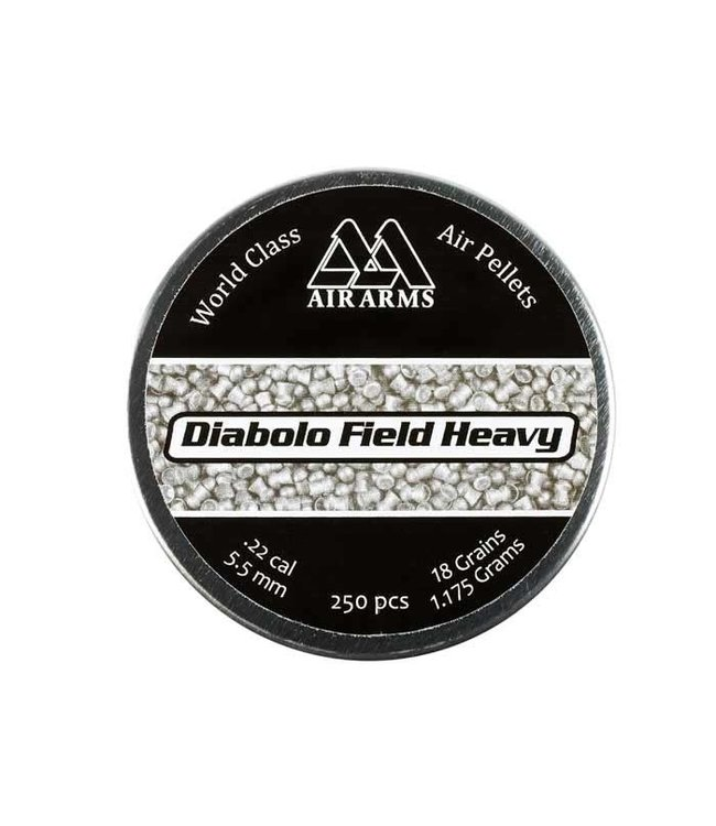 Air Arms Diabolo Field Heavy .22 Cal, 18gr