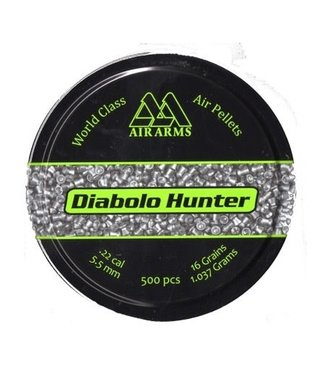 Air Arms Air Arms Diabolo Hunter Pointed .22 Cal, 16gr