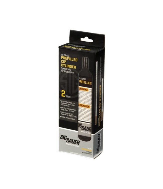 Sig Sauer Sig Sauer 90gram CO2 Cylinders 2-Pack
