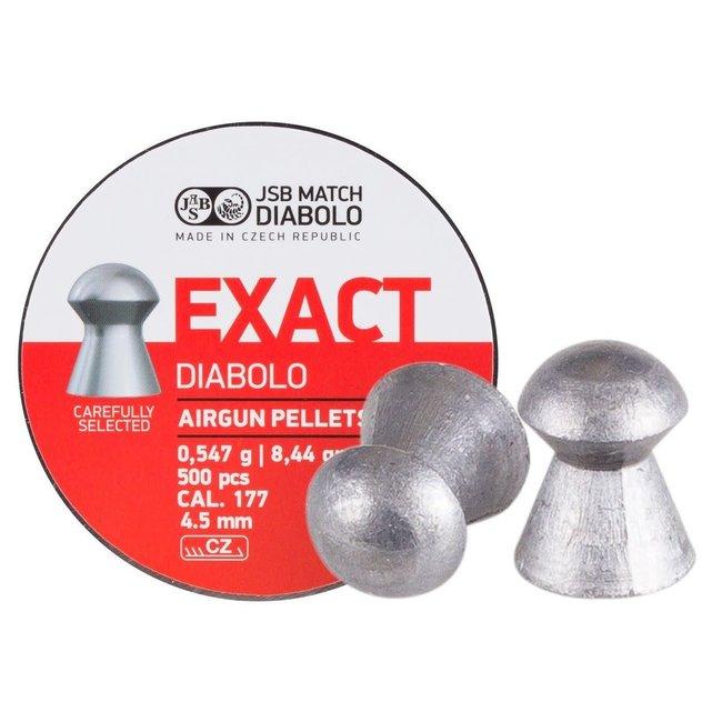 JSB Match Diabolo Exact .177 Cal, 8.44gr - 4.52mm