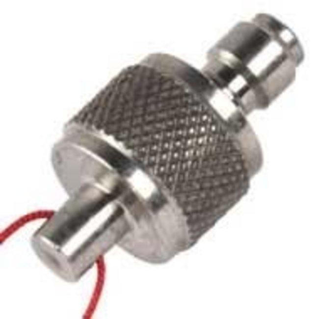 Best Fittings Stainless Steel Male Test/Dust Plug