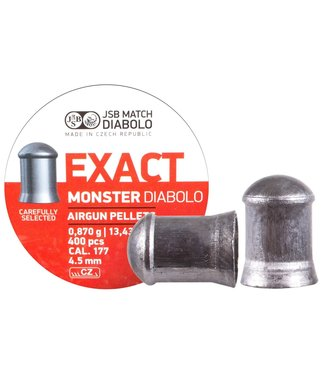 JSB Match Diabolo Exact Monster .177 Cal, 13.43