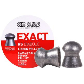 JSB Match Diabolo Exact RS  .177 Cal, 7.33gr