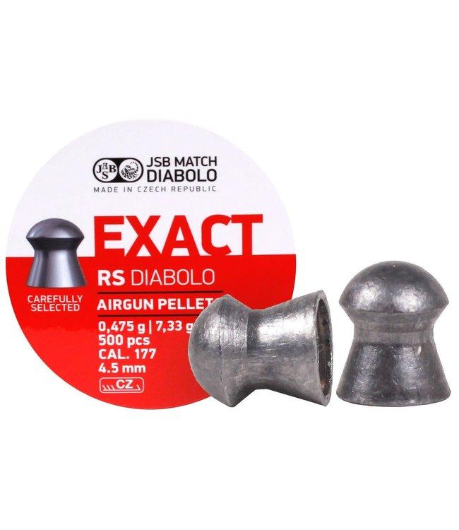 JSB Match Diabolo JSB Match Diabolo Exact RS  .177 Cal, 7.33gr