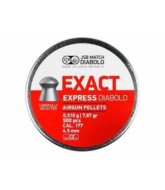 JSB Match Diabolo JSB Match Diabolo Exact Express .177 Cal, 7.87gr