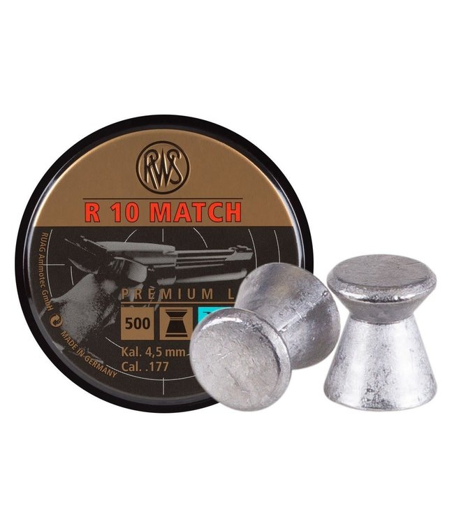 RWS R10 Match Premium Line Light .177 Cal, 7.0gr