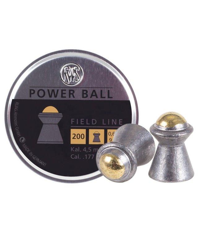 RWS Power Ball .177 Cal, 9.4gr