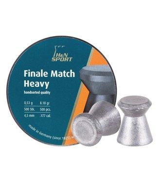 H&N H&N Finale Match Heavy .177 Cal, 9.18gr - 4.50mm