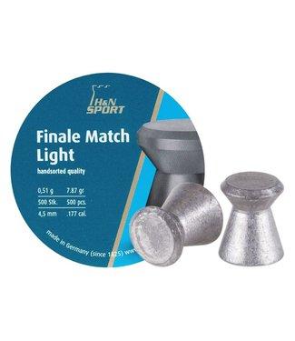 H&N Finale Match Light .177 Cal, 7.87gr - 4.50mm
