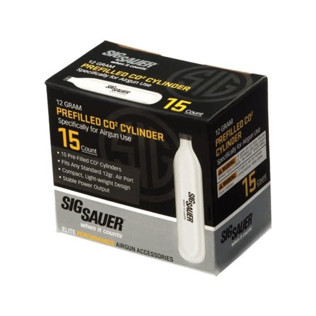 Sig Sauer Sig Sauer 12g CO2 - 15ct