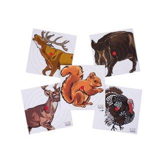 Umarex Animal Paper Targets - 100ct