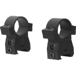 "FX Airguns FX No-Limit Mounts - 1"" Picatinny"