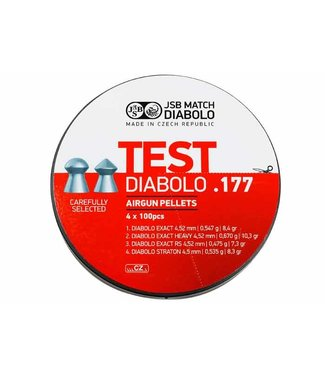 JSB Match Diabolo JSB Match Diabolo Test Sampler - .177 Cal