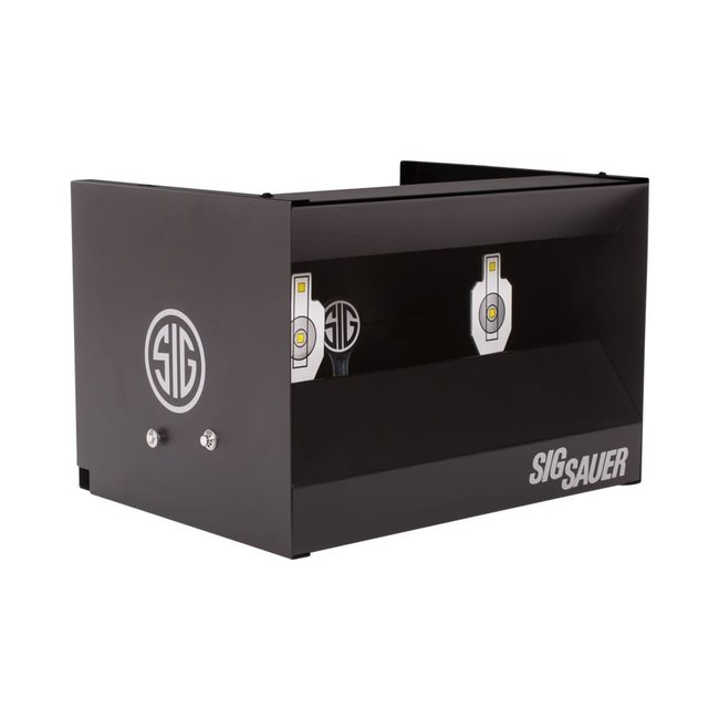 Sig Sauer Dual Gallery Shooting Target - Resetting