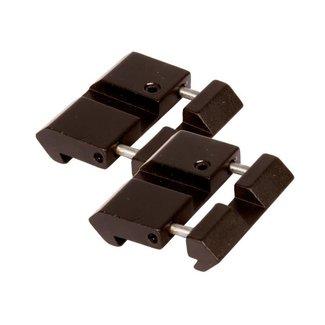 UTG 11mm to Picatinny Rail Adapter - 2pc
