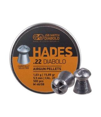 JSB Match Diabolo JSB Hades .22 Cal, 15.89gr