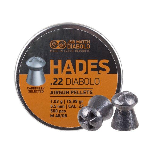 JSB Match Diabolo JSB Hades .22 Cal, 15.89gr - 500ct