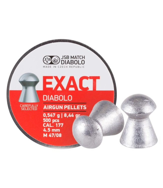 JSB Match Diabolo JSB Exact .177 Cal 8.44gr - 4.51mm