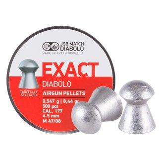 JSB Match Diabolo JSB Exact .177 Cal, 8.44gr - 4.53mm