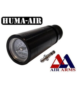 Huma-Air Air Arms Quickfill with Pressure Gauge Set