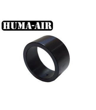 Huma-Air Black Tactical Pressure Gauge Cover - 23mm
