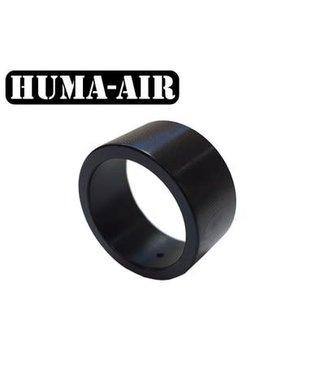 Huma-Air Short Black Tactical Pressure Gauge Cover - 23mm