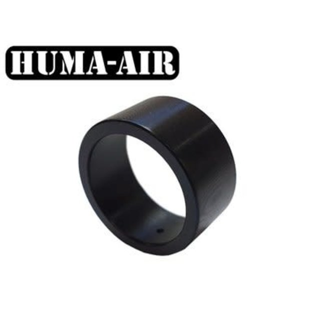 Huma-Air Short Black Tactical Pressure Gauge Cover - 23mm