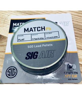Sig Sauer Sig Match Lead Pellets .177 Cal - 7.71gr
