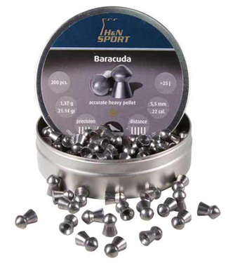 H&N H&N Baracuda .22 Cal, 21.14gr - 5.50mm