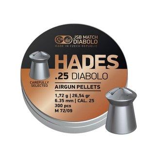 JSB Match Diabolo JSB Hades .25 Cal, 26.54gr