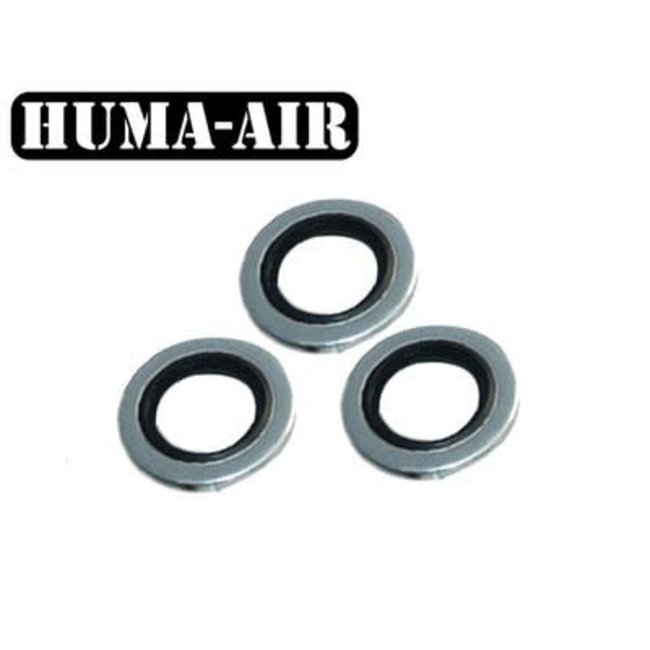 """1/8"""" BSP Bonded Seal Washers 3pk"""