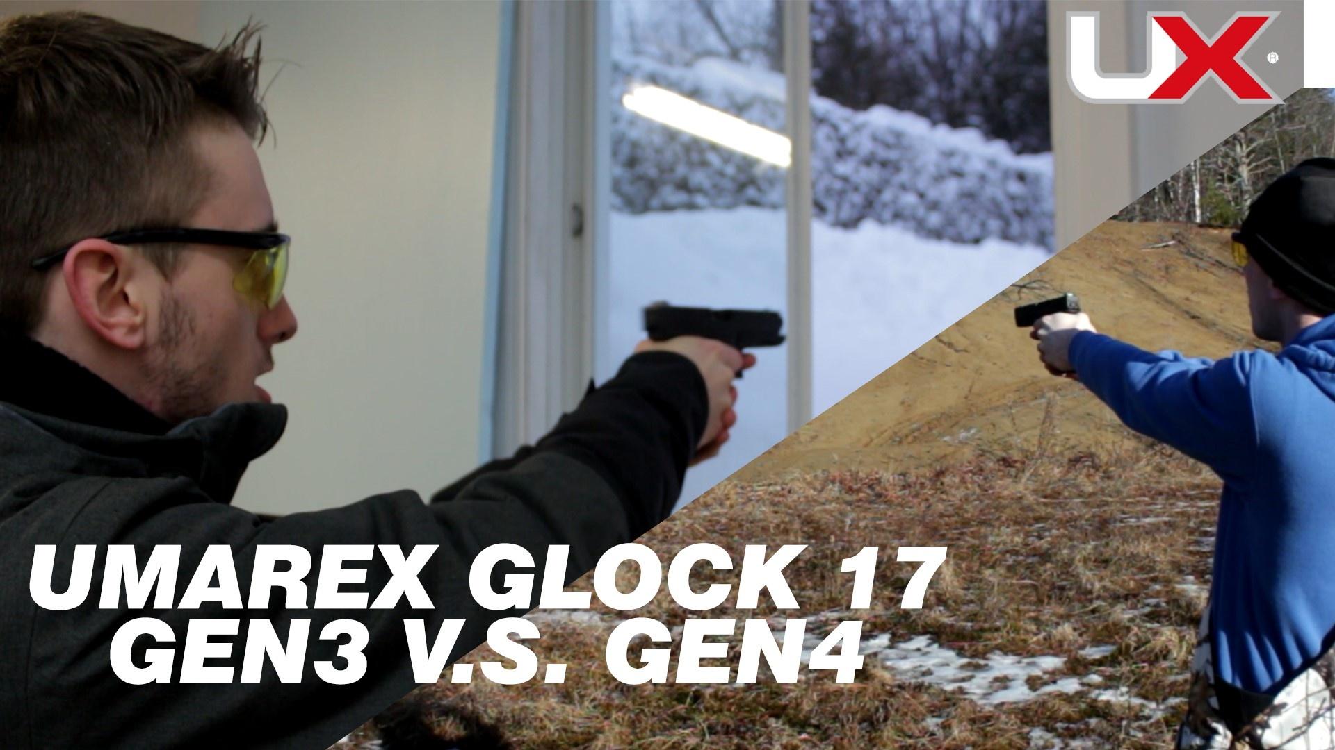 Umarex Glock 17 Gen3 vs Gen4