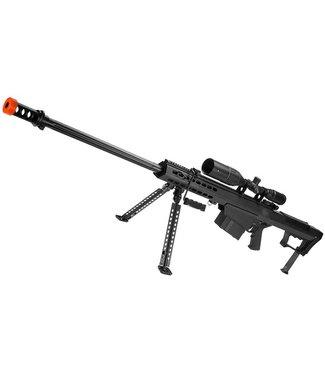 6mmProShop 6mmProShop Barrett Licensed M82A1 Bolt-Action Airsoft Sniper Rifle