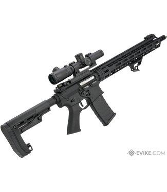 EMG EMG Falkor AR-15 RECCE 2.0 eSilverEdge M4 Airsoft AEG Rifle Blackout / 400 FPS