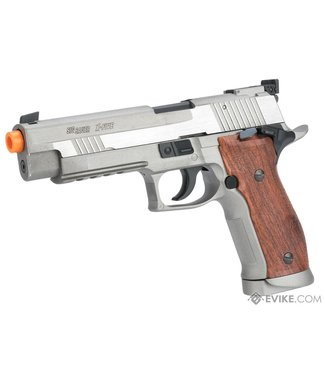 Sig Sauer Sig Sauer X-Five CO2 Blowback Airsoft Pistol - Stainless Colour