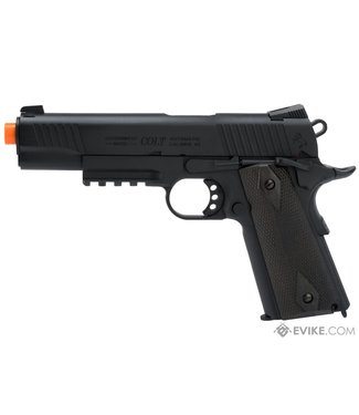 KWC Colt 1911 Tactical Full Metal CO2 Airsoft Gas Blowback Pistol - Black
