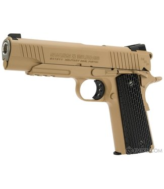 Swiss Arms SA 1911 MRP Blowback .177 Cal - Tan