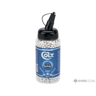 Colt Premium 6mm High Grade Precision Airsoft BBs - .20g - 2000ct - White