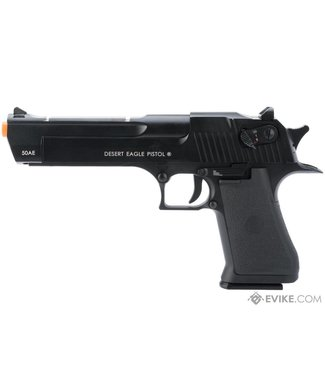 KWC Magnum Research Licensed Semi/Full Auto Metal Desert Eagle CO2 Blowback - Black