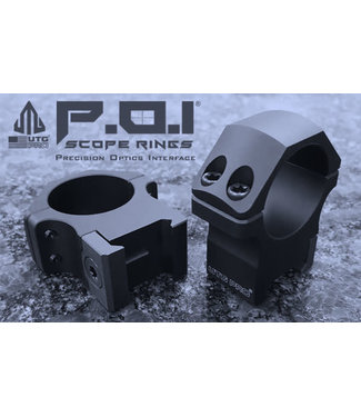 "UTG UTG Pro 1"" High Picatinny Mounts"