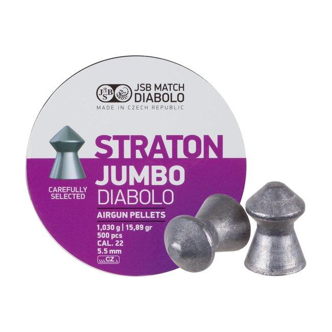 JSB Match Diabolo JSB Straton Jumbo Diabolo .22 Cal, 15.89gr - 500ct