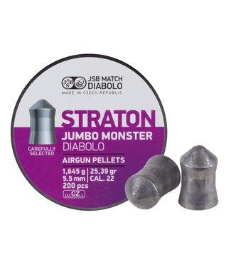 JSB Match Diabolo Straton Jumbo Monster .22 Cal, 25.39gr
