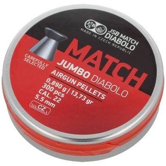 JSB Match Diabolo JSB Jumbo Match Wadcutter .22 Cal, 13.73gr - 300ct