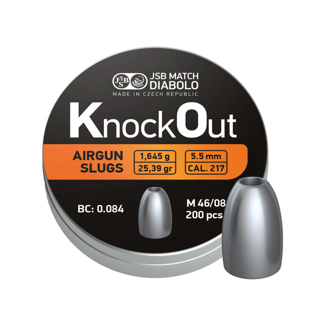 JSB Match Diabolo JSB KnockOut Slugs 25.39gr - 200ct