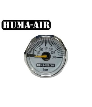 Huma-Air Mini Pressure Gauge - 25mm - 300 BAR