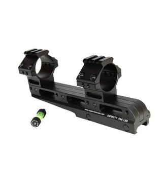 Eagle Vision Infinity Forward Elevation Adujstable Scope Mount 30mm Rings - Picatinny